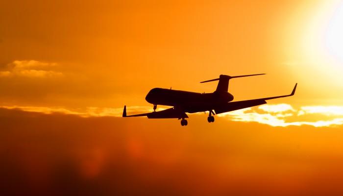 Vliegtuig Ibiza