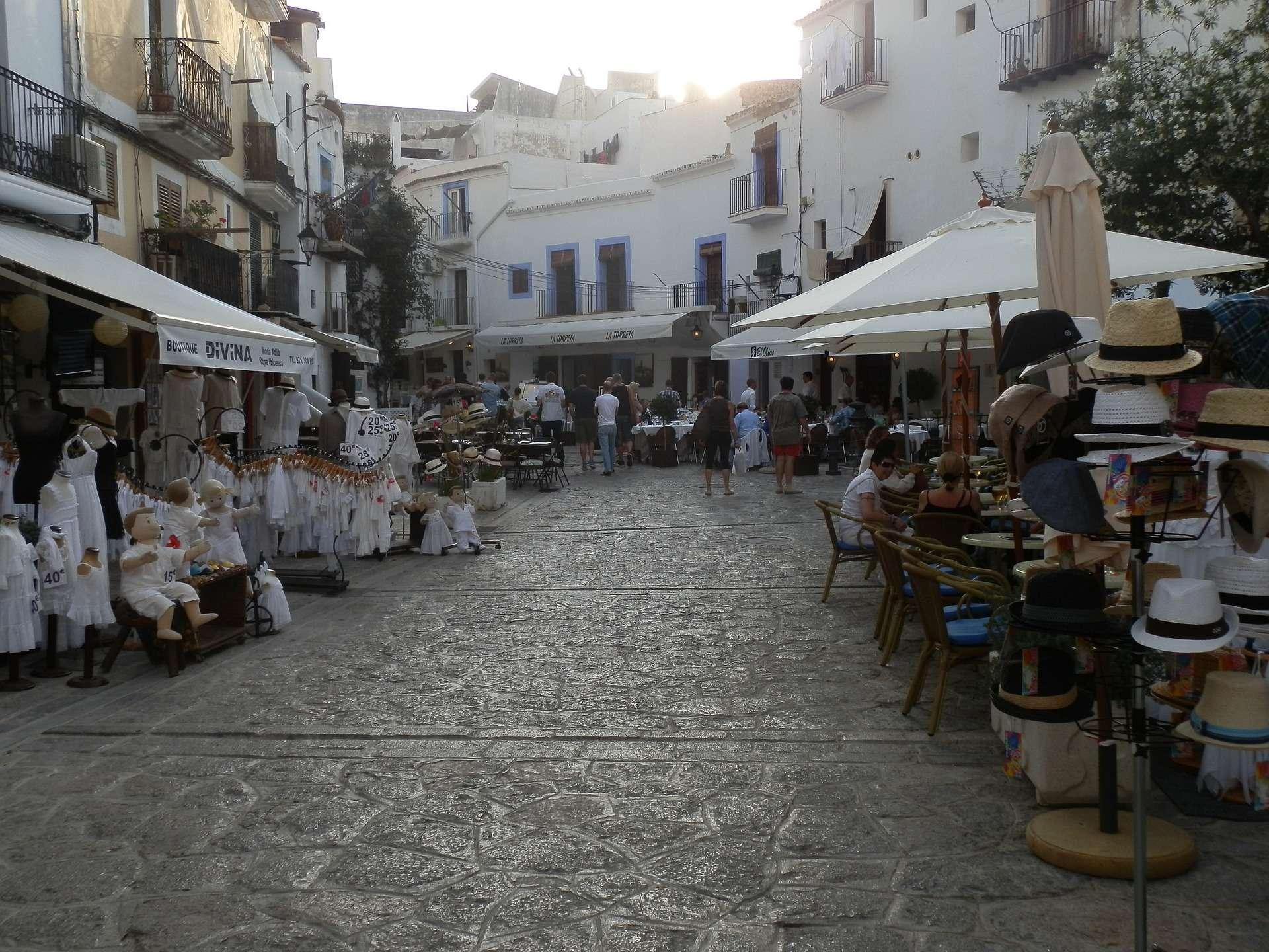 Bezienswaardigheden Oude centrum Ibiza