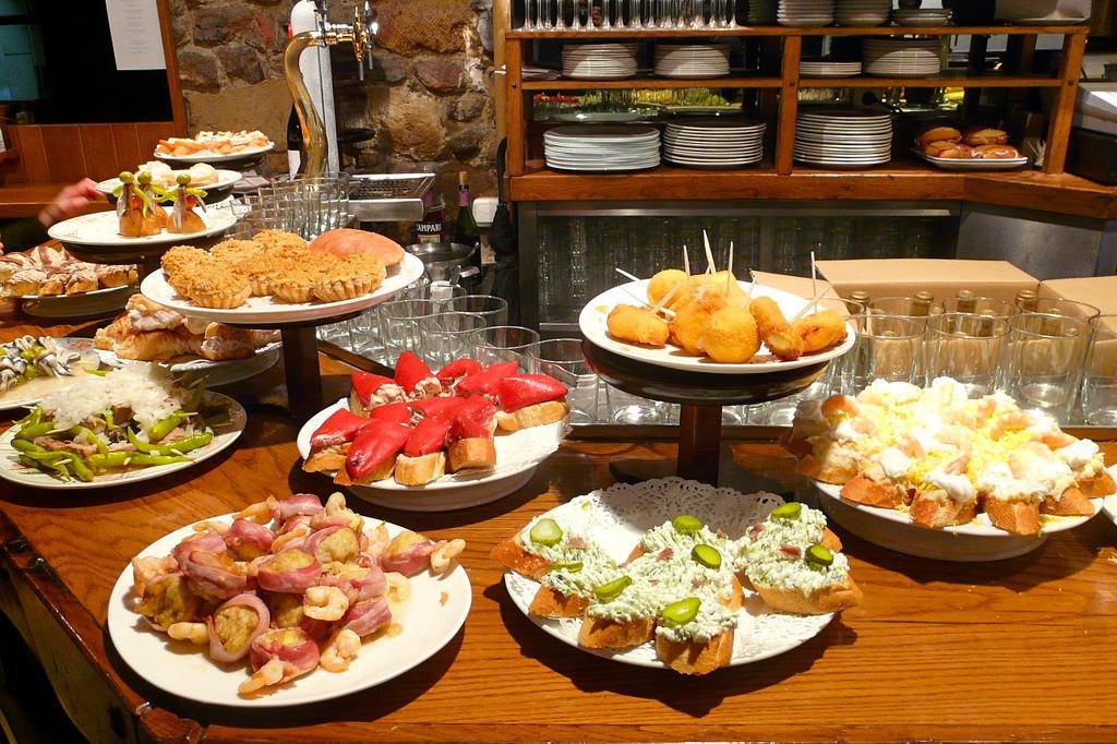 Tapas eten Ibiza